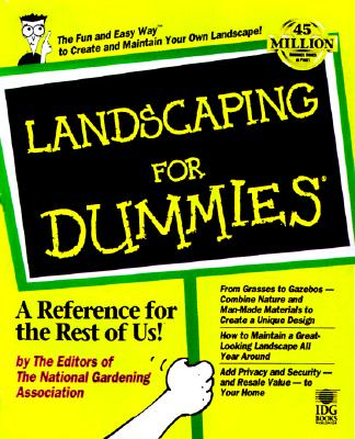 Landscaping for Dummies By Giroux, Philip (EDT)/ Beckstrom, Robert J./ Walheim, Lance/ National Gardening Association (U. S.)/ Giroux, Philip/ National Gardening Association (U. S.)