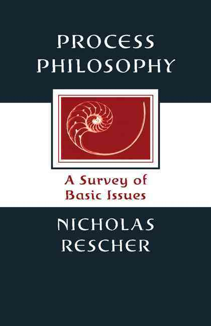 Process Philosophy By Rescher, Nicholas